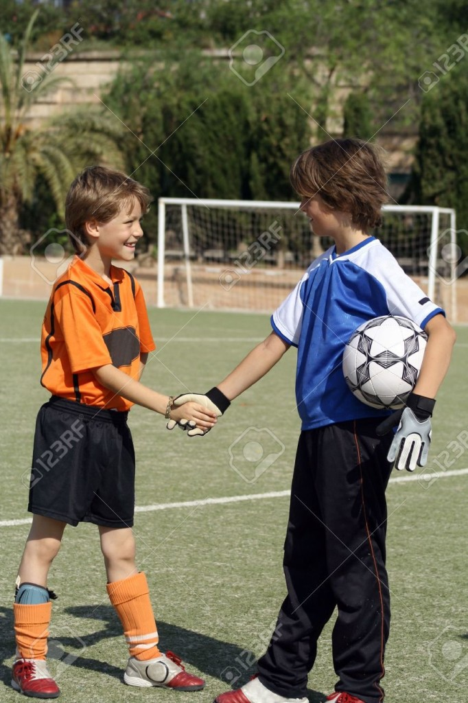 -football-or-soccer-players-shaking-hands-Stock-Photo-kids